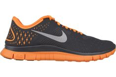 bbfad67049c2 NIKE Free 4.0 V2 Women 511527 008 Anthracite   Reflective Silver-Vivid  Orange The Nike