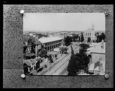 East end of Murray Street, with Perth Public Hospital and St Mary's Cathedral, Perth, Old Pictures, Old Photos, Perth Western Australia, Back In The Day, Nurses, Catholic, Cathedral, Photographs, Photo Wall