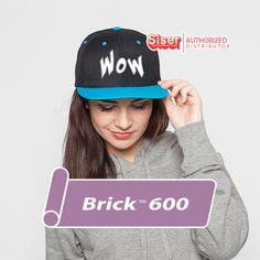 x / / Brick 600 / Siser Easyweed - Heat Transfer Vinyl - HTV by OneSourceStore on Etsy Reverse Mirror, Siser Easyweed, Vinyl Signs, Heat Transfer Vinyl, Brick, Etsy, Bricks