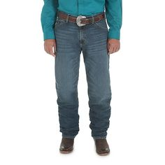 Wrangler Men's 20X Relaxed Jeans Cool Vantage (Size: 29x36) Blue