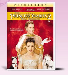Laugh, cry, and fall in love with Princess Mia in The Princess Diaries 2 movie. Have your own piece of the magic with The Princess Diaries 2 DVD from the Disney Movie Club. The Princess Diaries, Julie Andrews, Movies Showing, Movies And Tv Shows, Disney Movies, Disney Pixar, Girly Movies, Teen Movies, Movies To Watch