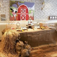 Rüzgar's çiftlik party @rzgarzu @arzu_cookies #party#çiftlikparty#konseptparty#doğumgünü #doğumgünüpartisi #dişbuğdayı