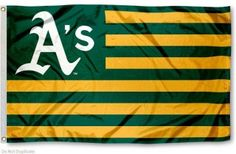 Oakland Athletics Nation Flag
