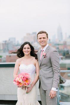 Real Weddings: Meet Jenn | Dress: Carol Hannah Archdale | Images: City Love Photography