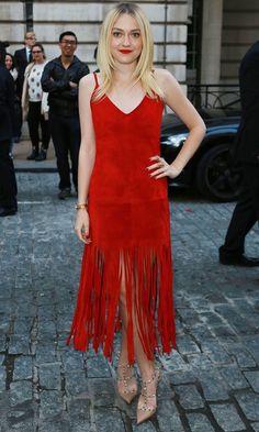 Dakota Fanning Turns Heads In A Valentino Dress