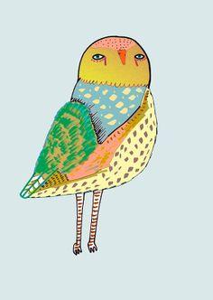 Magical Owl #print | Ashley Percival