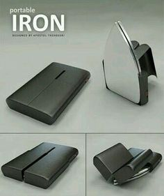 Portable Iron Is Featuring Rail Mechanism That Allows The User To Transform  The Smart Box Easily Into An Iron. However, This Iron Can Not Be Used For  ...