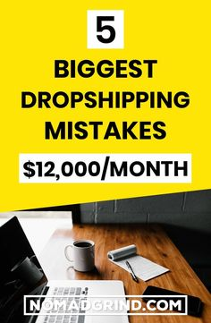 One of the most important things when creating a Shopify Dropshipping store is the biggest Shopify Dropshipping mistakes you can make as a beginner in Digital Marketing Strategy, Social Marketing, Online Marketing, Way To Make Money, Make Money Online, Online Business Opportunities, Business Ideas, Dropshipping Suppliers, Drop Shipping Business
