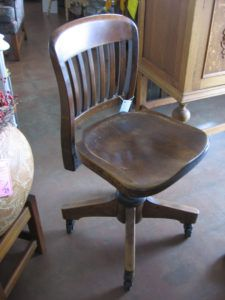 Old Antique Desk Chairs