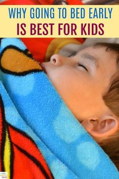 Good news for parents who are able to put their kids to sleep early. A new study shows that An Early Bedtime Means Happier And Healthier Children. Learn why going to bed early is best for kids. #bedtime #baby #toddler #kids #healthykids #moms #parenting v