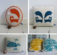 cushions by robin & mould