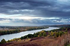 Oka is a river in central Russia, the largest right tributary of the Volga.
