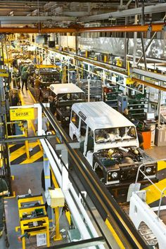 Defender production line @ Solihull