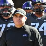 TCU Head Coach Gary Patterson and the Horned Frogs have lost three straight games, something Patterson has not experienced in 161 previous games as the Head Coach at TCU
