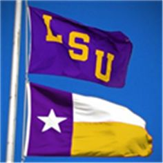 is it cheesy to buy the Texas LSU flag? i want one so bad! Louisiana State University, Lsu Tigers, School Spirit, Way Of Life, Football Season, College Life, Texas, Spaces, Happy