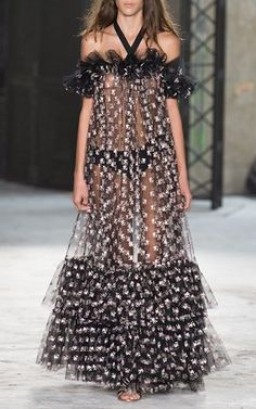 Ruffled High/Low Dress by Giambattista Valli