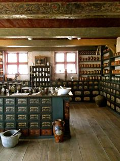 Apothecary inside The Old Town, Aarhus.  #apothecary #theoldtown #aarhustourist