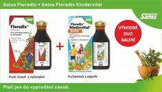 Salus Výhodné DUO balení - Salus Floradix + Salus Floradix Kindervital