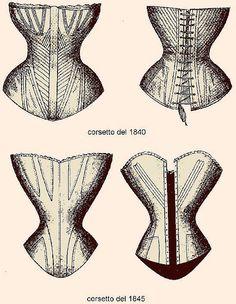 1840 corset