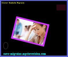 Cluster Headache Migraine 155510 - Cure Migraine
