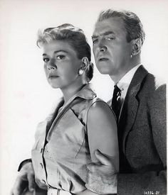 Doris Day & Jimmy Stewart in The Man Who Knew To Much