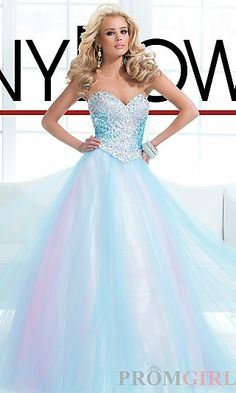 Ball Gown Prom Dress I want it | Prom dresses and hair | Pinterest ...