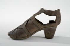 Datering: 1670-tals damsko, karusellsko, Klacksko, Bruna
