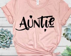 Shirts for all occasions designed and made in Las Vegas by HeartYourTees Auntie Shirt - Aunt Shirt - New Aunt Shirt - Aunt Gift - Aunt to be - Pregnancy Announcement Gift - Aunt Birthday Gift - Heart Your Tees New Aunt, Aunt To Be, Aunt Birthday, Birthday Ideas, Pregnancy Announcement Gifts, Aunt Shirts, Auntie Onsies, Heart Shirt, Niece And Nephew