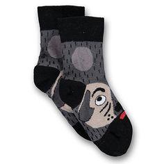 Dog Walkie Talkie Socks by Ubang Babblechat - Junior Edition www.junioredition.com