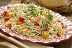 temp-tations® by Tara: Orzo Pasta Salad< My daughter likes orzo