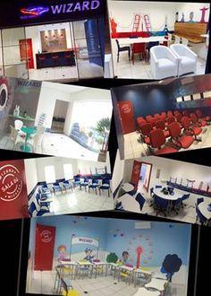 A MJ3 Comunicação Visual cuida da imagem de seu ambiente! WIZARD unidade Itu, grande trabalho, forte parceria!