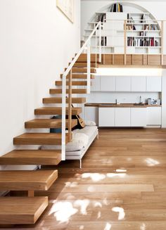 stairs / bookcase