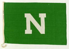 House flag, Nigerian National Line Ltd - National Maritime Museum