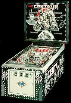"Bally ""Centaur"" easily the best multiball game of that era."