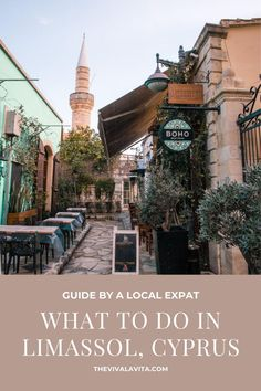 What to do in Limassol? Here are top picks on what to see, do and where to eat in Limassol written by a local expat. #limassol #cyprus #cyprusguide #cyprustravel #limasssolcyprus #kourion #limassolcity #limassolmarina #limassolrestaurants Limassol Cyprus, Future Travel, Weekend Trips, European Travel, Us Travel, The Great Outdoors, Big Ben, Greece, Travel Destinations