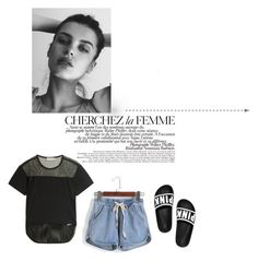 """Başlıksız #481"" by senaa ❤ liked on Polyvore featuring adidas, GE and La Femme"