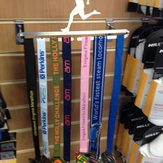 Medal holders in store at Advance Performance