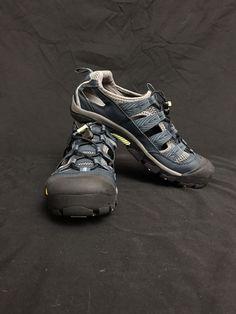 e53ac640a9dc KEEN Womens Commuter 4 Sandal Bike Shoe Midnight Navy Green Glow 1013195 Sz  9  fashion  clothing  shoes  accessories  womensshoes  sandals (ebay link)