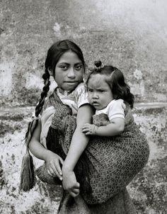 Indian children in San Cristobal de Las Casas in Mexico. Photograph by Shaun Higson