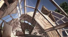 """Every year, 10,000 Danes come together for the Folkemødet, a celebrated """"political festival"""" of spirited policy debate, which sounds extremely Danish. This summer, they'll be doing so in an incredible space: A beautiful, wood-and-steel geodesic dome."""