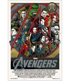 The Avengers Tyler Stout poster
