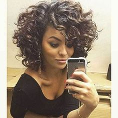 30 Short Curly Hairstyles for Black Women # # #Curly Hairstyles