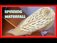 NEW KNOT DESIGN WATERFALL HAIRSTYLE / HairGlamour Styles / Hairstyles / Hair Tutorial - YouTube
