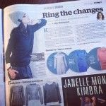 Ring the changes - Herald on Sunday includes the Bling Ring Sweater, Snapped Beanie and Getaway Leather Trackpants