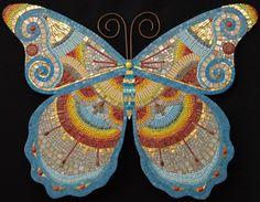 """Résultat de recherche d'images pour """"modele papillon mosaique"""""""