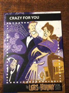 The Lights of Broadway Cards Crazy For You Spring 2018 Movie Posters For Sale, Sale Poster, Theater, Broadway Shows, Lights, Spring, Cards, Theatre, Map