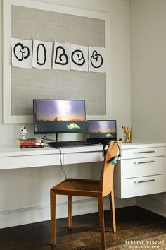 Heidi Piron Design and Cabinetry | Work Space | 2