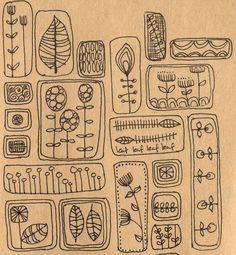 Bobbie print: A few more scribbles..