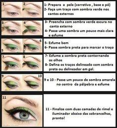 Dicas de maquiagem (olhos)