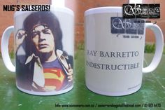 Foto: Mug Salsero - Ray Barreto Indestructible Mugs, Tableware, Feelings, Messages, Accessories, Dinnerware, Cups, Mug, Dishes